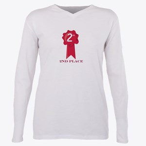 2nd Place Plus Size Long Sleeve Tee