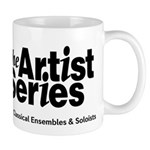 The Artist Series logo Mugs