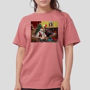Santa's Lhasa Apso T-Shirt