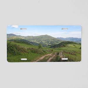 Pyrennees: Route Napoleon Aluminum License Plate