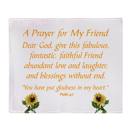 A prayer for a friend throw blanket by admincp10732994 a prayer for a friend throw blanket thecheapjerseys Choice Image
