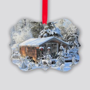 Country Holidays! Picture Ornament