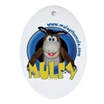 Muley Oval Ornament