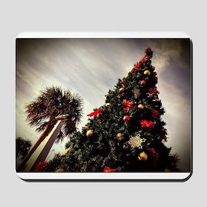 Fernandina Beach Christmas Tree Mousepad