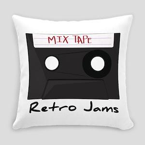 Retro Jams Everyday Pillow