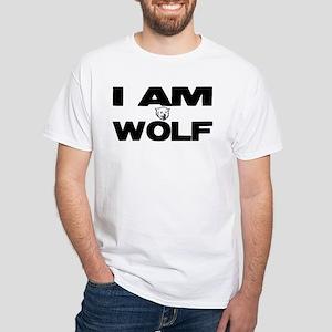 I AM WOLF White T-Shirt