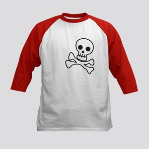 Cute Skull Kids Baseball Jersey