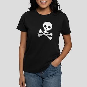 Cute Skull Women's Dark T-Shirt