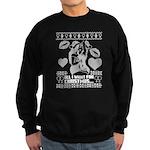 Lesbian Christmas Jumper Sweater Sweatshirt (dark)