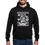 Lesbian Christmas Sweater Jumper Hoodie (dark)