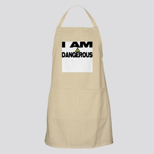 I AM DANGEROUS BBQ Apron