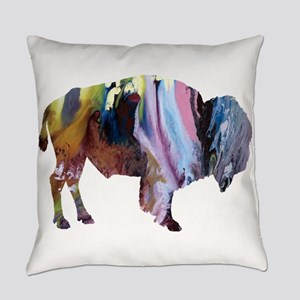 Bison Everyday Pillow