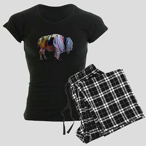 Bison Women's Dark Pajamas