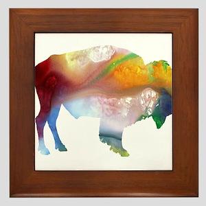 Bison Framed Tile