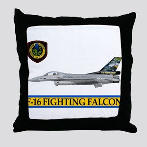 1st Squadron Throw Pillow