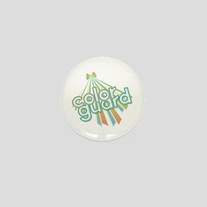 Retro Color Guard Mini Button