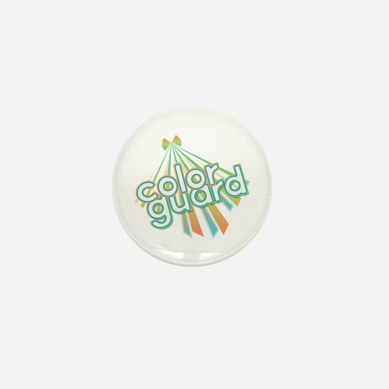 Retro Color Guard Mini Button