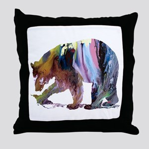 blackbear Throw Pillow