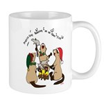 Roasting Dogs 11 Oz Ceramic Mug Mugs