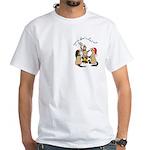 Roasting Prarie Dog White T-Shirt