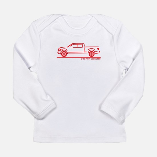 Cute Ford truck Long Sleeve Infant T-Shirt