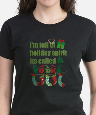 Holiday Spirit - Vodka T-Shirt