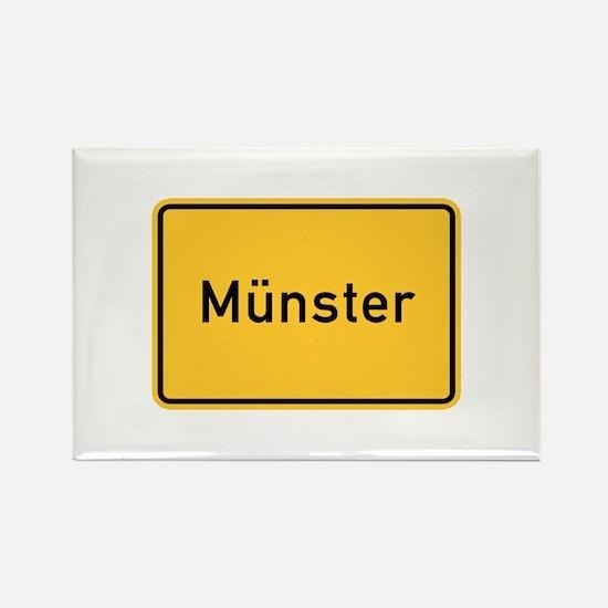 Münster Roadmarker, Germany Rectangle Magnet