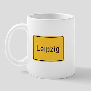 Leipzig Roadmarker, Germany Mug