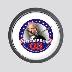 Fred Thompson for President Wall Clock