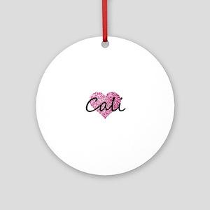 Cali Round Ornament