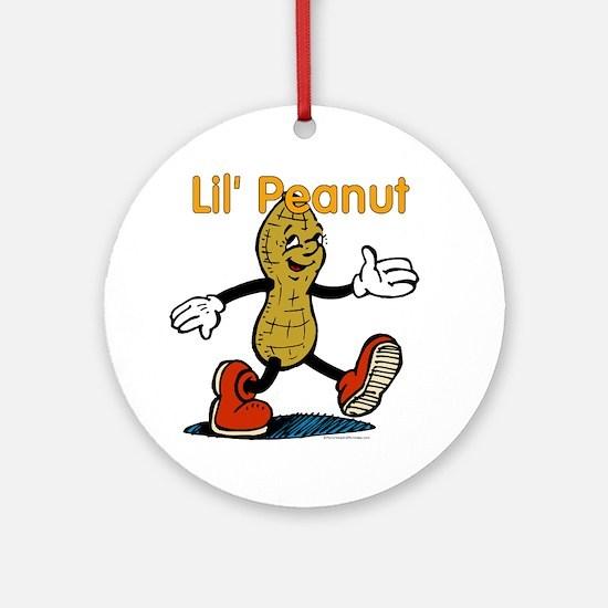 Lil Peanut Ornament (Round)