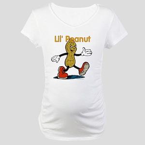 Lil Peanut Maternity T-Shirt
