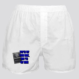 The Necronomicon Blue Boxer Shorts