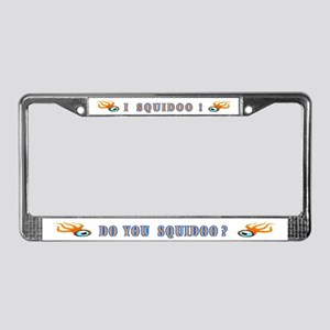 I Squidoo License Plate Frame
