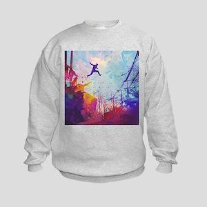 Parkour Urban Obstacle Course Sweatshirt