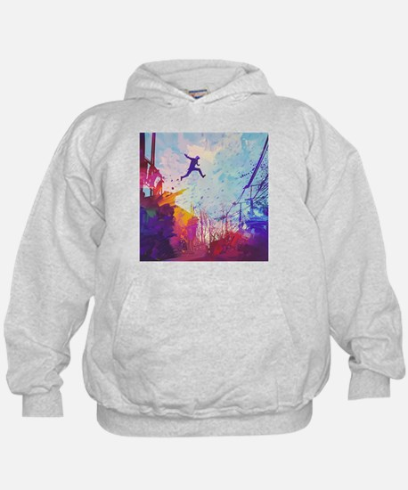 Parkour Urban Obstacle Course Sweatshirt