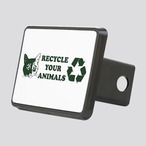 recycle your animals.green Hitch Cover