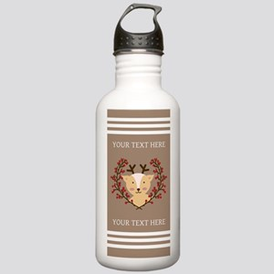 Personalized Whimsical Stainless Water Bottle 1.0L