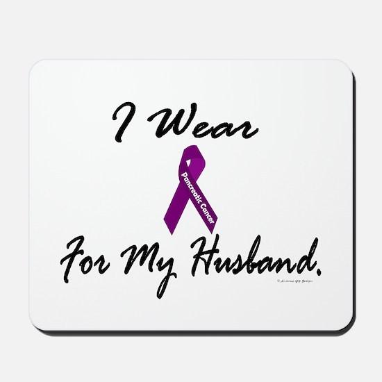 I Wear Purple 1 (Husband PC) Mousepad