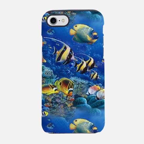 Tropical Fish iPhone 8/7 Tough Case