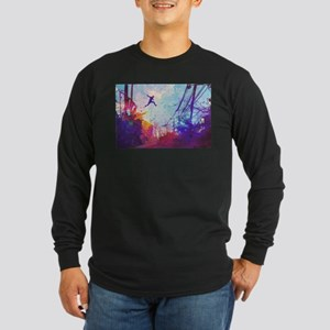 Parkour Urban Obstacle Course Long Sleeve T-Shirt