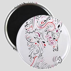 elephant ornate Magnets