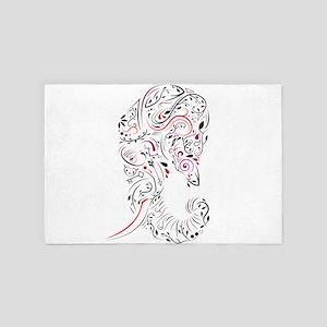 elephant ornate 4' x 6' Rug