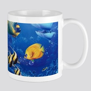 Tropical Fish Stainless Steel Travel Mugs
