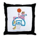 Ok-9 Inspiration (basketball) Throw Pillow