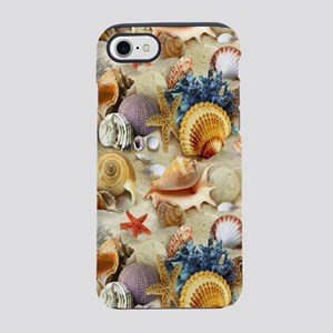 Fancy Seashell iPhone 8/7 Tough Case