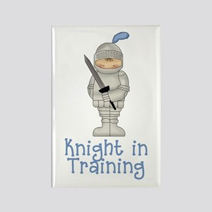 Knight in Training Rectangle Magnet