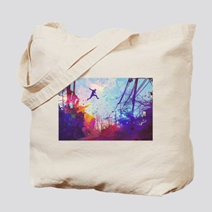 Parkour Urban Obstacle Course Tote Bag