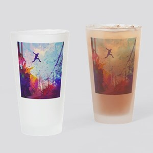 Parkour Urban Obstacle Course Drinking Glass