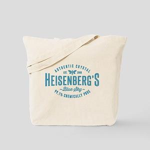 Heisenberg Blue Sky Breaking Bad Tote Bag